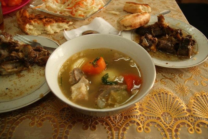 Shorpo Soup in Bishkek