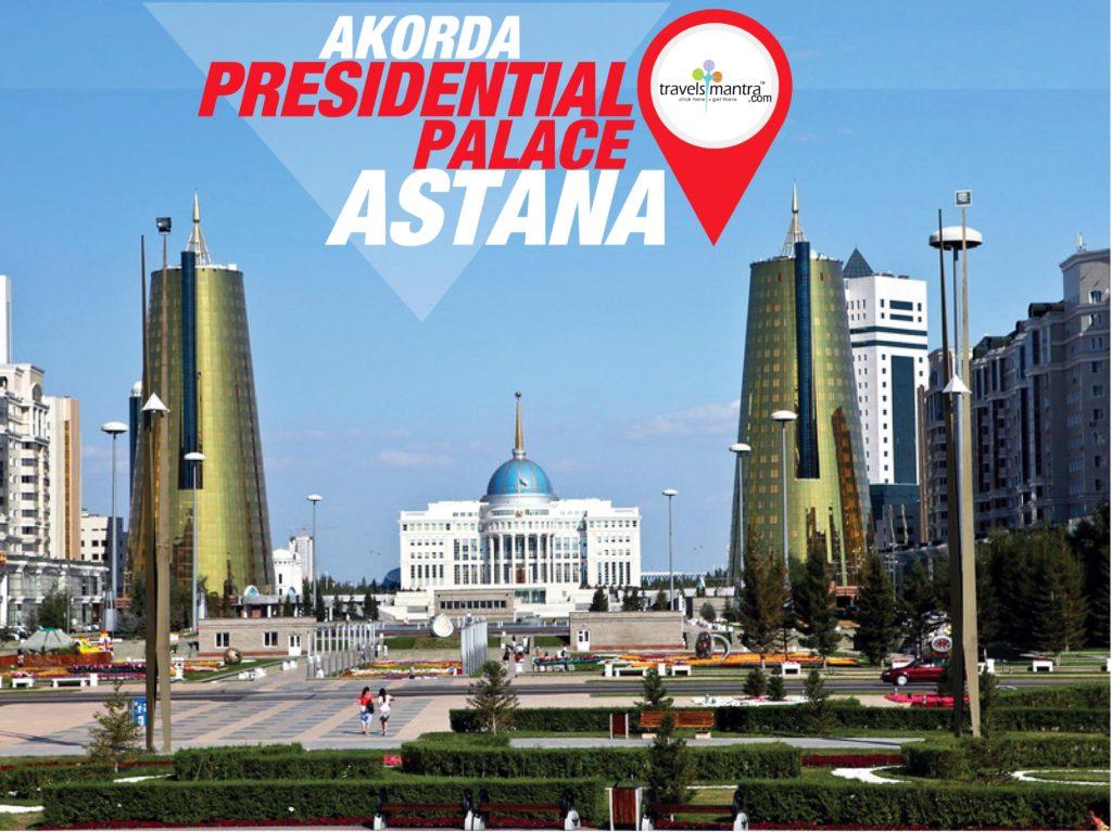 Ak Orda Ppresidential Palace Astana
