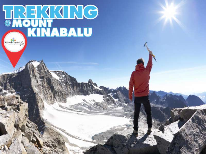 Trekking at Kinabalu National Park