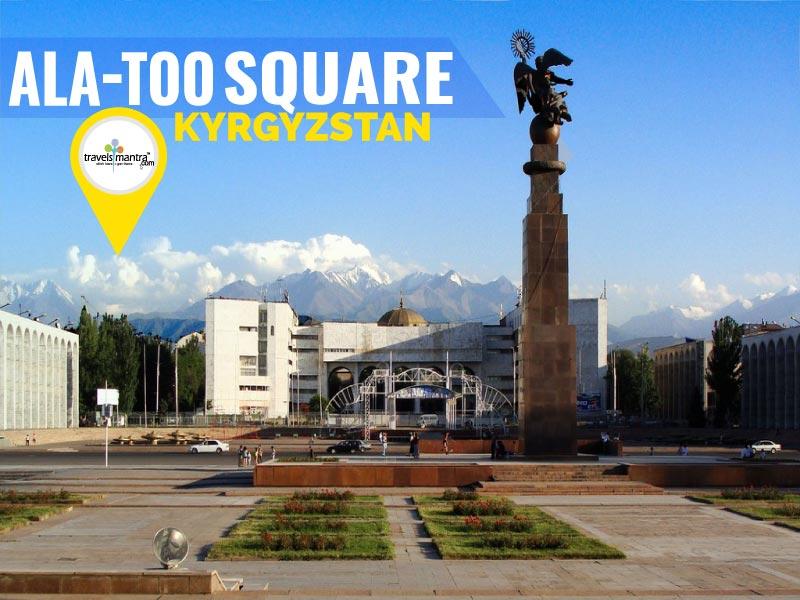 Ala-Too Square Bishkek