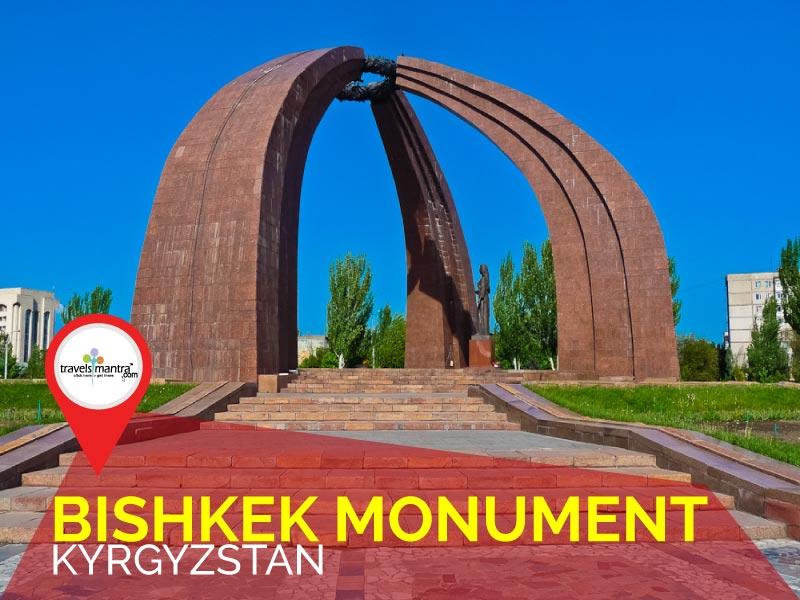 Bishkek Monument - TravelsMantra