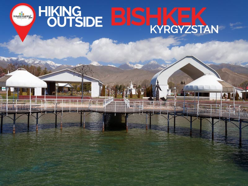 Hiking Outside Bishkek