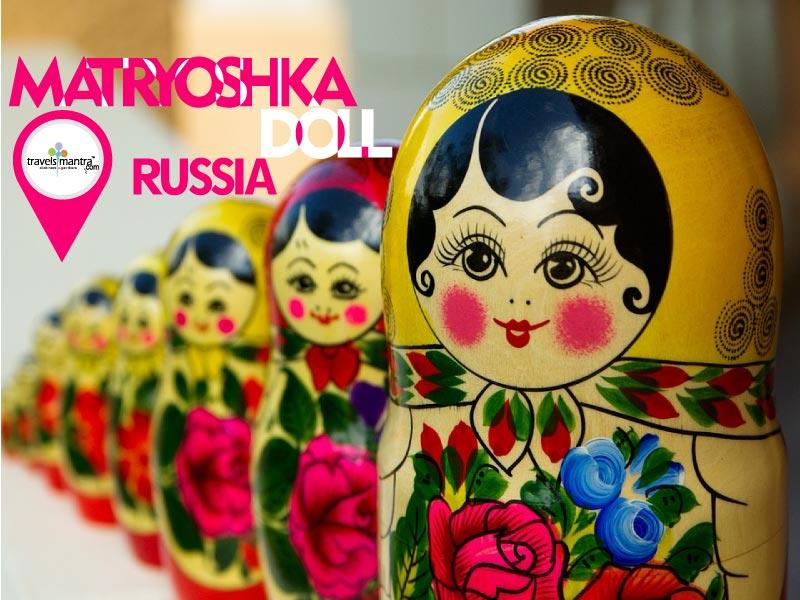 Russia Tourism Matryoshka Doll