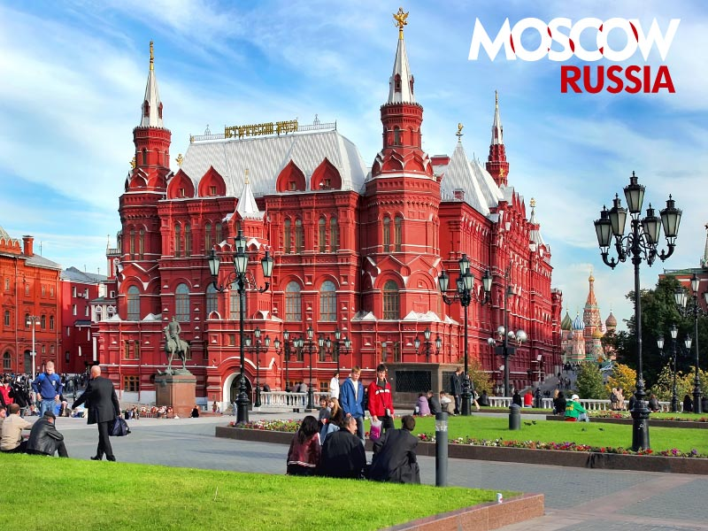 Russia Tourism - Moscow