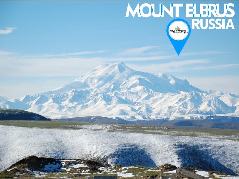 Russia Tourism - Mount Elbrus