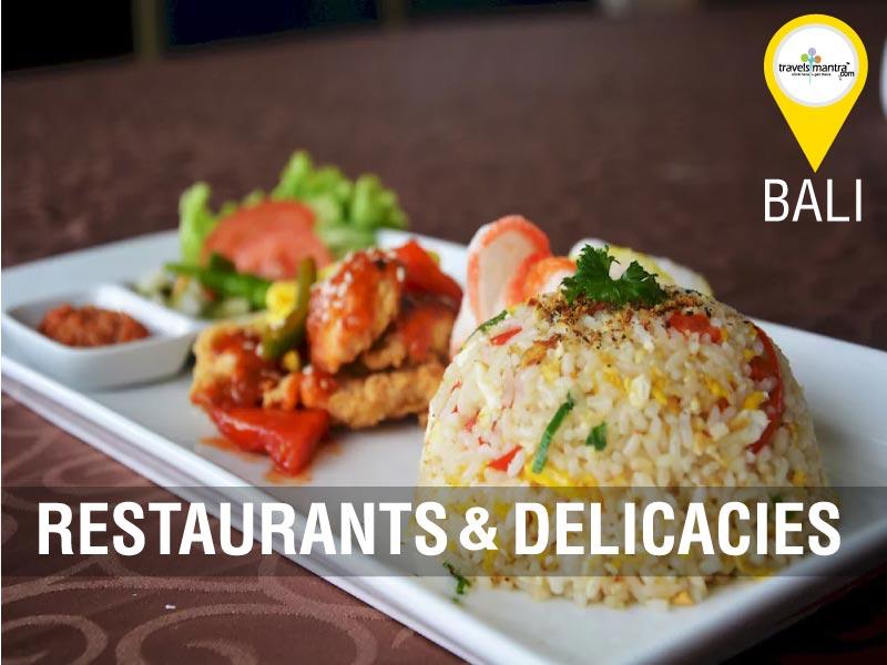 Bali Restaurants and Decacies