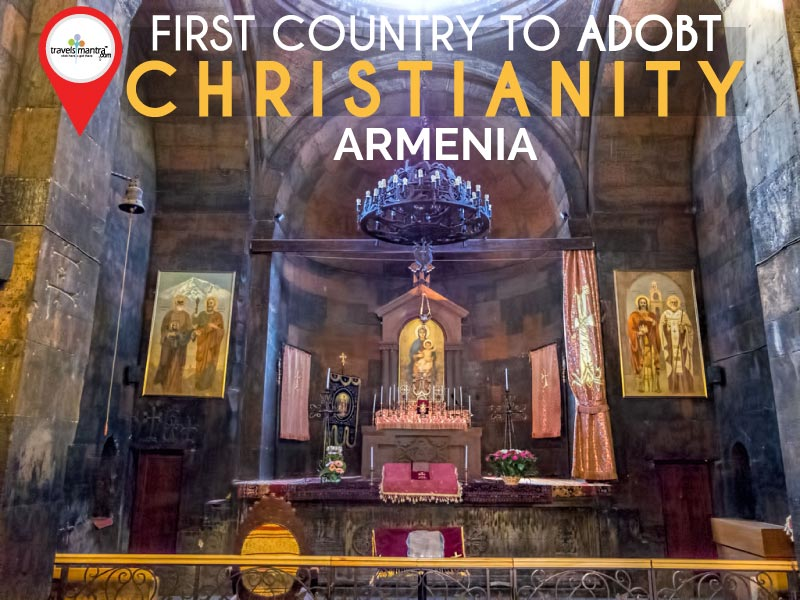First Country to Adopt Christianity