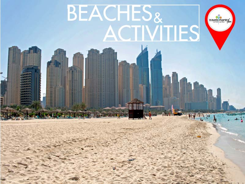 Beaches and Activities in Dubai