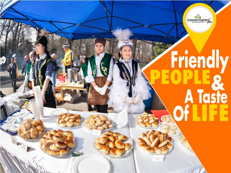 Friendly People & the Taste of Life
