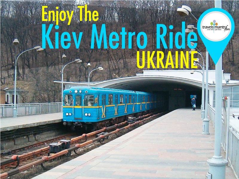 Kiev Metro Ride