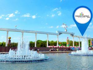 Indepandence Square Tashkent-Travels Mantra