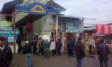 Dordoy Bazaar Bishkek Kyrgyzstan