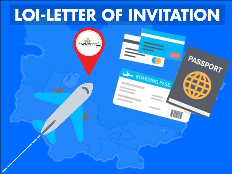 Invitation letter for visa loi letter of invitation travelsmantra letter of invitation loi visa stopboris Choice Image