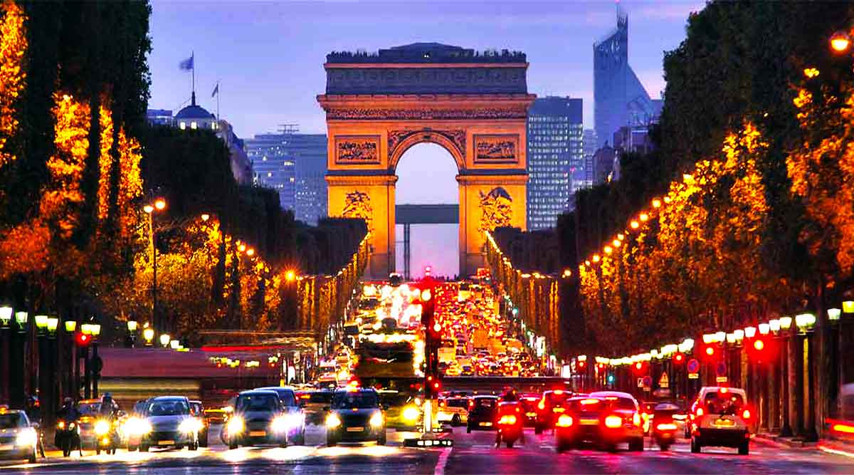 Paris Main City Travels Mantra