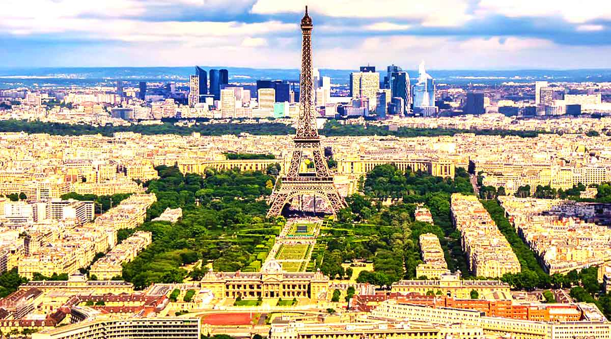 Paris Main City Travels Mantra