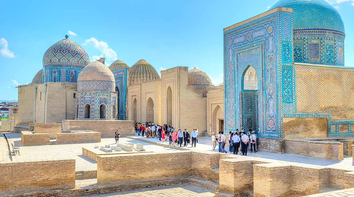 Samarkand Main City Travels Mantra