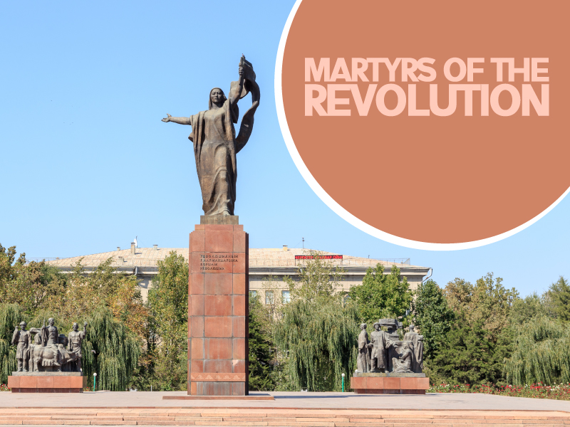 Martyrs of the Revolution - Travels Mantra