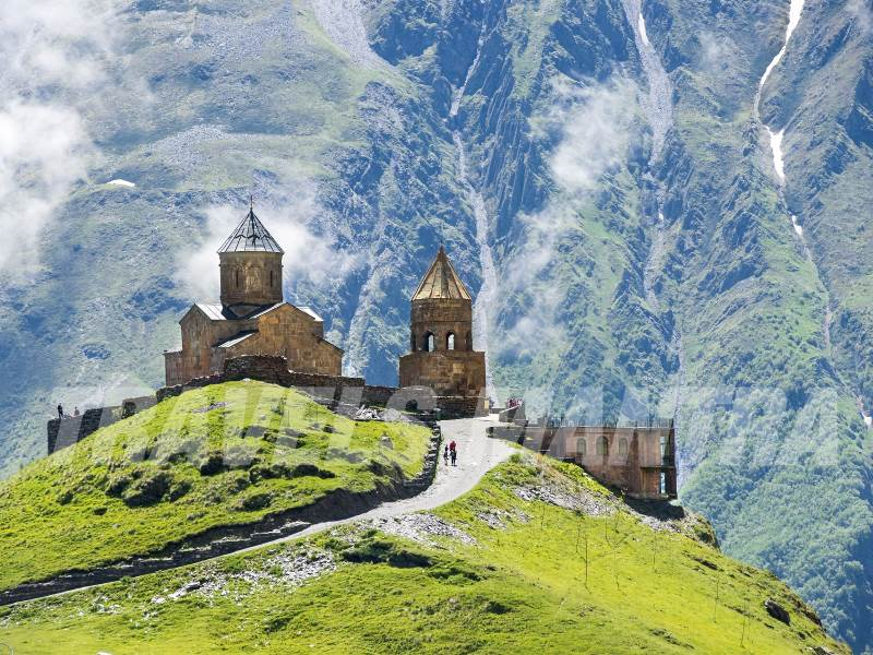 Cathedral in the Caucasus