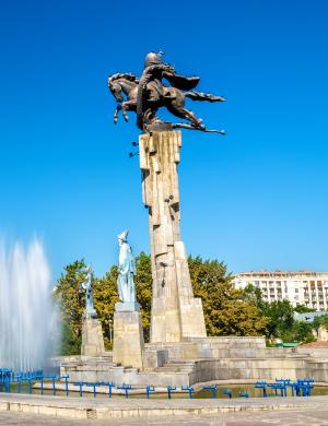 Manas Equestrian Monument - Bishkek