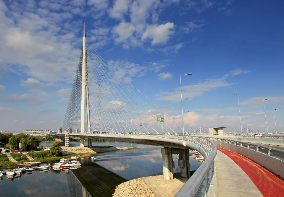 New bridge in Belgrade