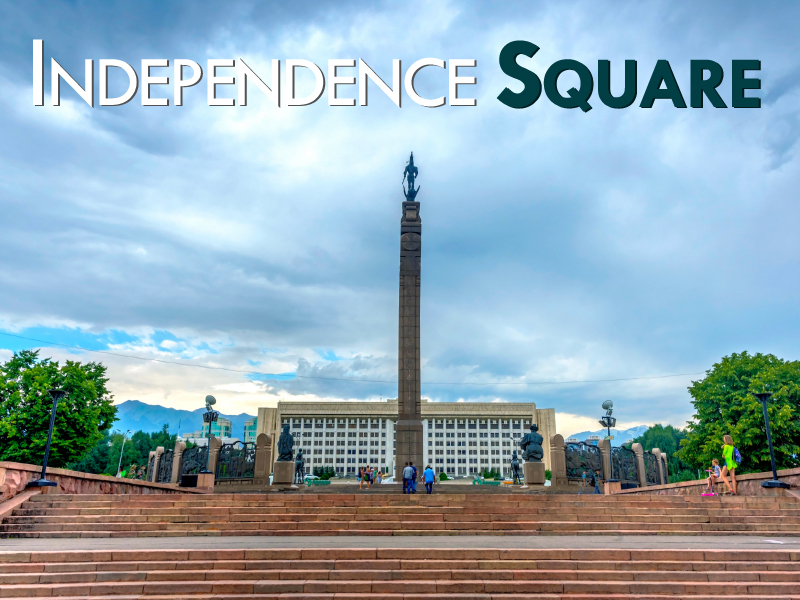 Independence Square Almaty - Travels Mantra